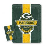 Green Bay Packers Tin Sign & Fridge Magnet, Vintage Style